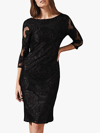 Phase Eight Trina Rose Dress, Black