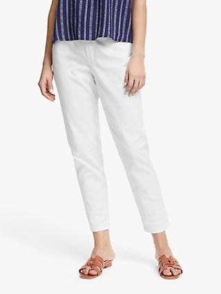 Collection WEEKEND by John Lewis Ankle Grazer Slim Fit Jeans, White