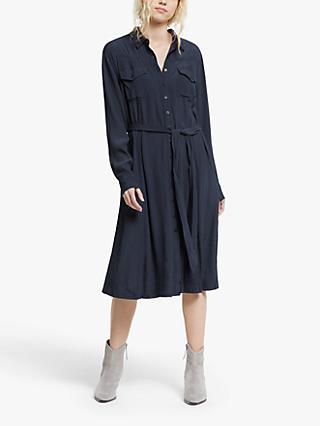 AND/OR Farah Shirt Dress, Navy