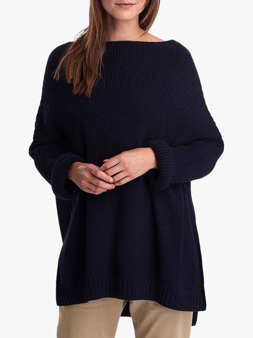 Barbour Barbour Stitch Guernsey Cape, Navy
