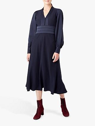Hobbs Josephine Dress, Midnight