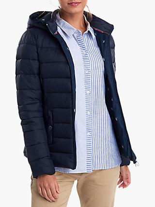 Barbour Landmass Hooded Jacket, Navy
