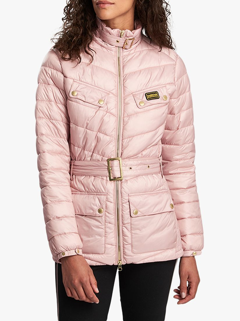 Barbour Barbour International Gleann Quilted Jacket, Blusher
