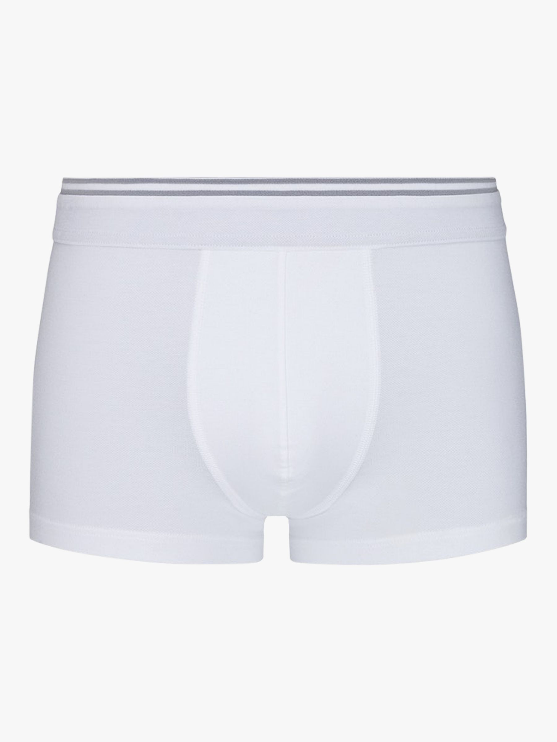 Hanro Hanro Liam Stretch Cotton Trunks, White