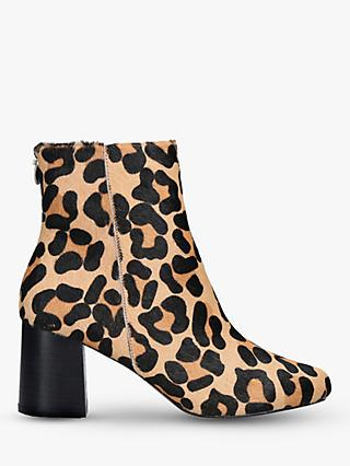 Carvela Smash Block Heel Ankle Boots