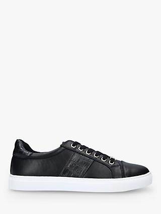 Carvela Jumping Lace Up Trainers, Black