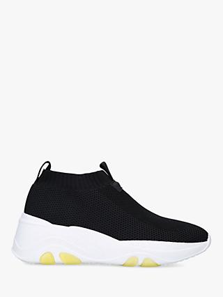 Carvela Lottery Chunky Sock Trainers, Black