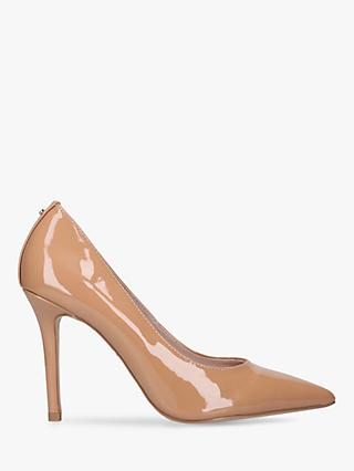 Carvela Kareless Stiletto Heel Court Shoes, Camel