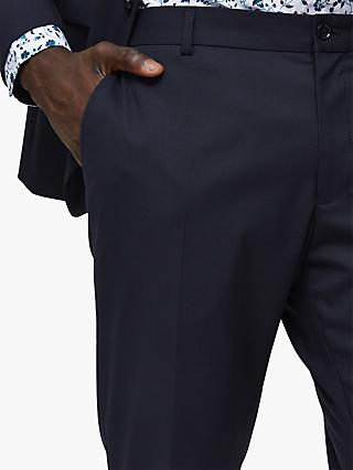SELECTED HOMME Slim Fit Suit Trousers, Navy