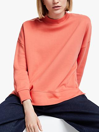 Kin Panelled Back Sweatshirt, Pink