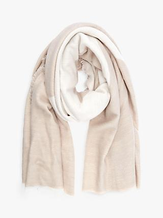 Mint Velvet Star Soft Scarf, Neutral