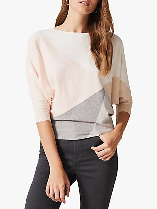 Phase Eight Alia Colour Block Jumper