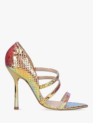 Carvela Gravitate Stiletto Heel Triple Strap Sandals