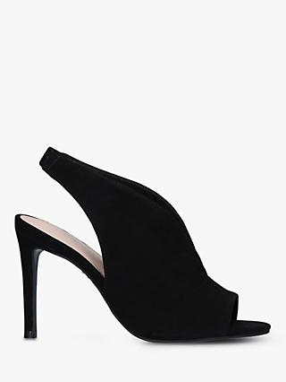 Carvela Guilty Suede Slingback Stiletto Heels