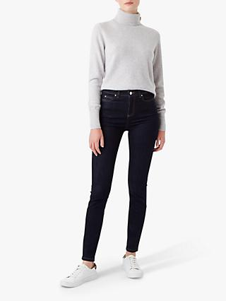 Hobbs Gia Sculpting Jeans, Blue