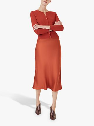 Hobbs Peyton Skirt, Burnt Orange