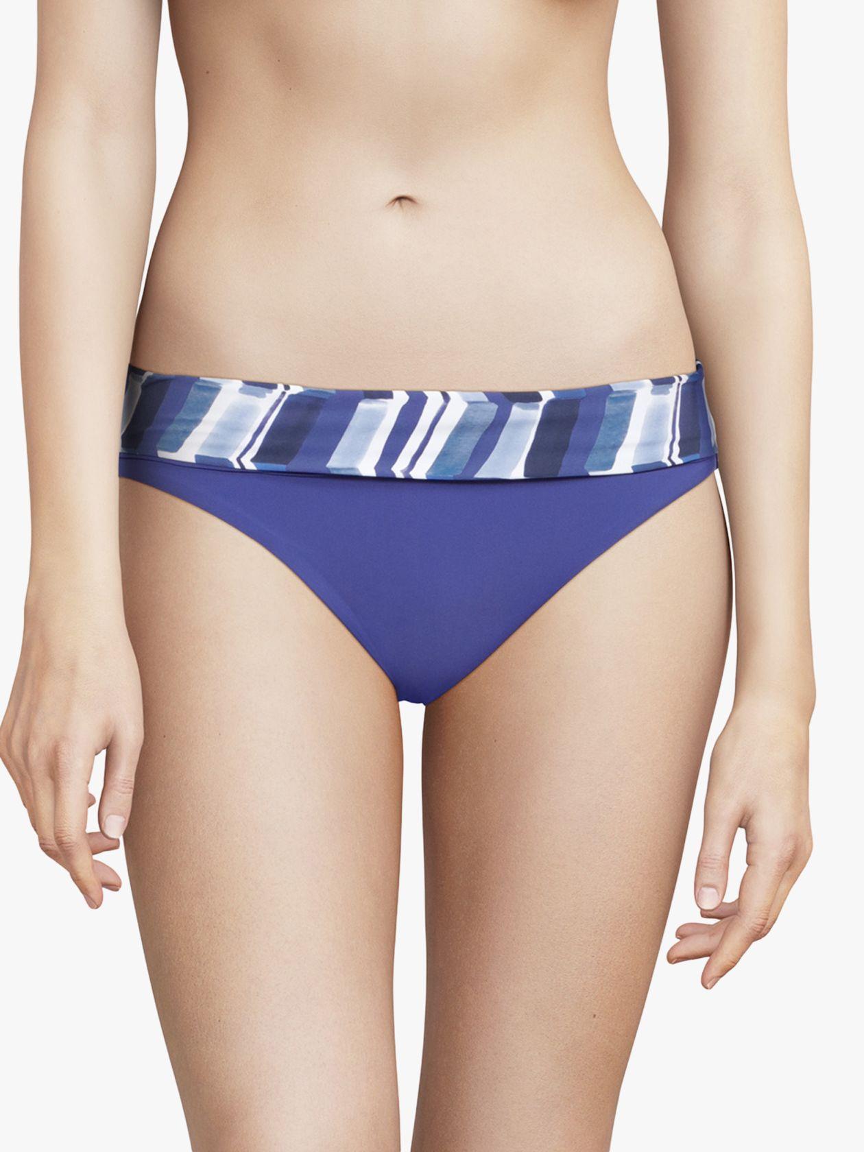 Chantelle Chantelle Deep Sea Waves Bikini Briefs, Blue