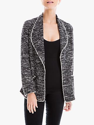 Max Studio Tweed Jacket, Black