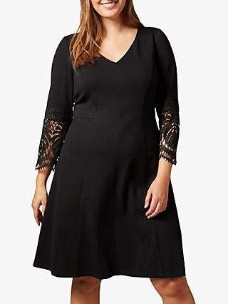 Studio 8 Malene Ponte Dress, Black