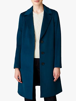 Jaeger Wool Single Breasted A-Line Coat