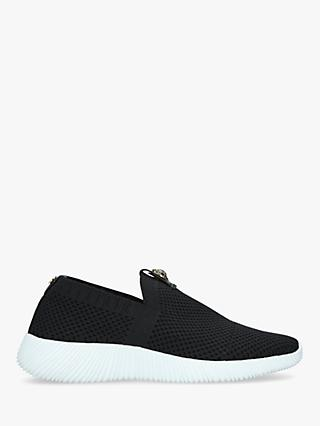 Kurt Geiger London Lorna Eagle Embellished Slip On Trainers, Black