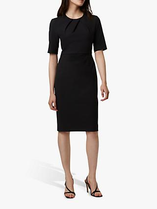 French Connection Freya Glass Dress, Black