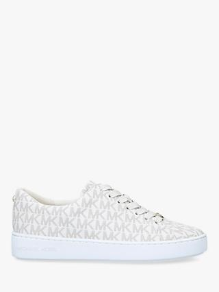 MICHAEL Michael Kors Keaton Flat Lace Up Trainers, Neutral