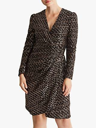 Fenn Wright Manson Bibi Dress, Rose Gold
