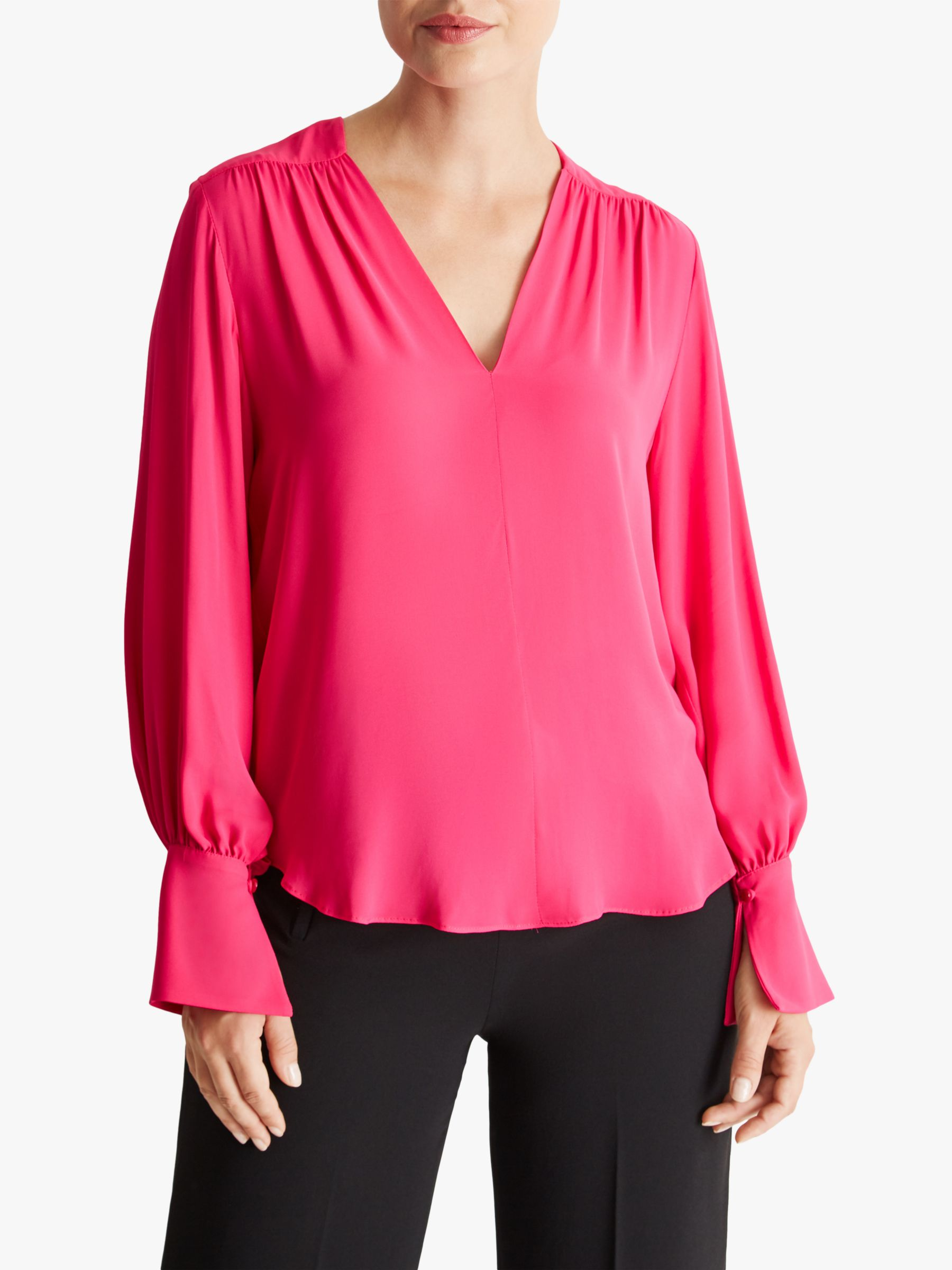 Fenn Wright Manson Fenn Wright Manson Fleuretta Long Sleeve Blouse, Pink