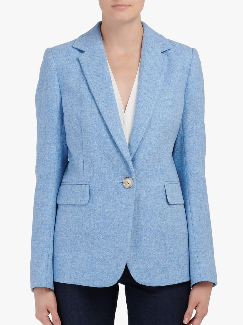 Helene For Denim Wardrobe Helene For Denim Wardrobe Carinne Wool Jacket, Blue