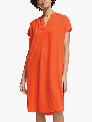 John Lewis & Partners Gather Neck Dress