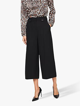 Damsel in a Dress Lydia City Suit Crop Trousers, Black