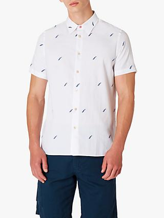 PS Paul Smith Lightning Bolt Short Sleeve Shirt, Multi