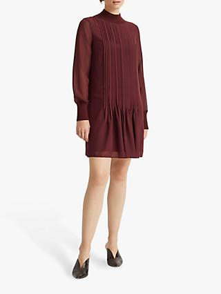 Club Monaco Pintuck Dress, Currant