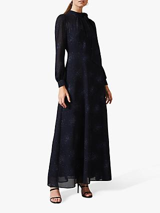 Phase Eight Melina Tie Dress, Midnight