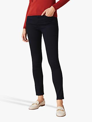 Phase Eight Aida High Waisted Skinny Jeans, Indigo