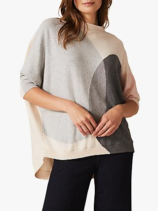 Phase Eight Caris Circle Jumper, Neutral