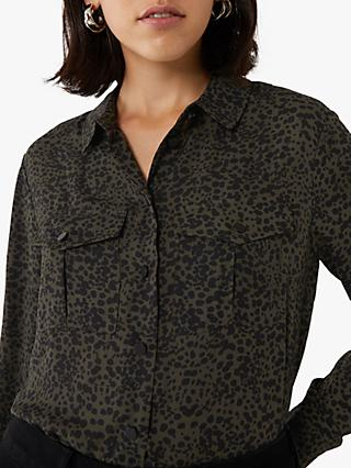 Warehouse Ink Spot Shirt, Khaki