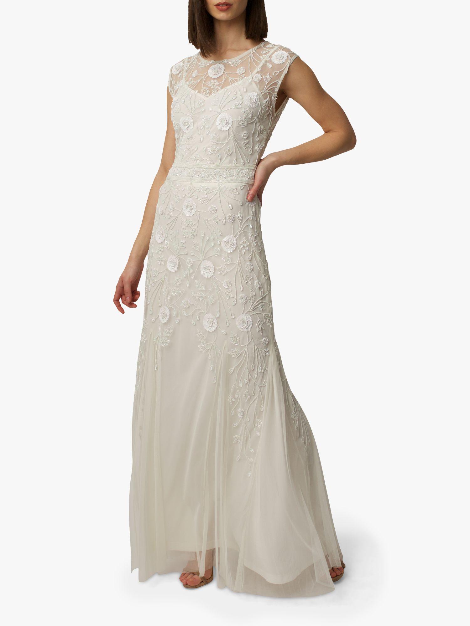 RAISHMA Raishma Alice Embellished Bridal Gown, White Ivory