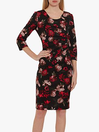 Gina Bacconi Franya Floral Dress, Multi