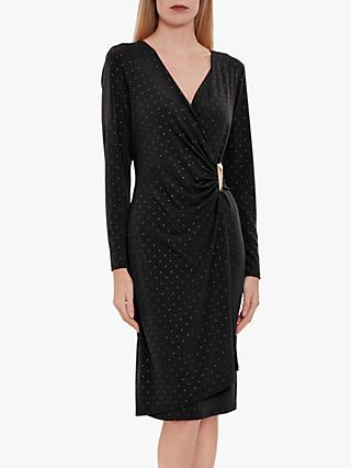 Gina Bacconi Myani Studded Jersey Dress