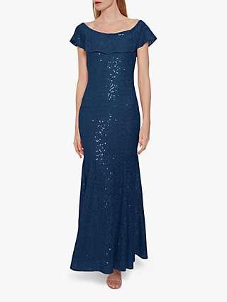 Gina Bacconi Amara Sequin Dress