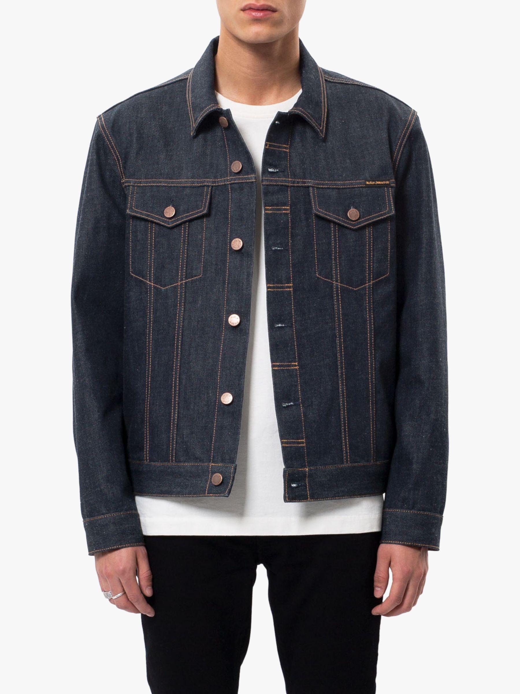 Nudie Jeans Nudie Jeans Jerry Denim Jacket, Dry Ring