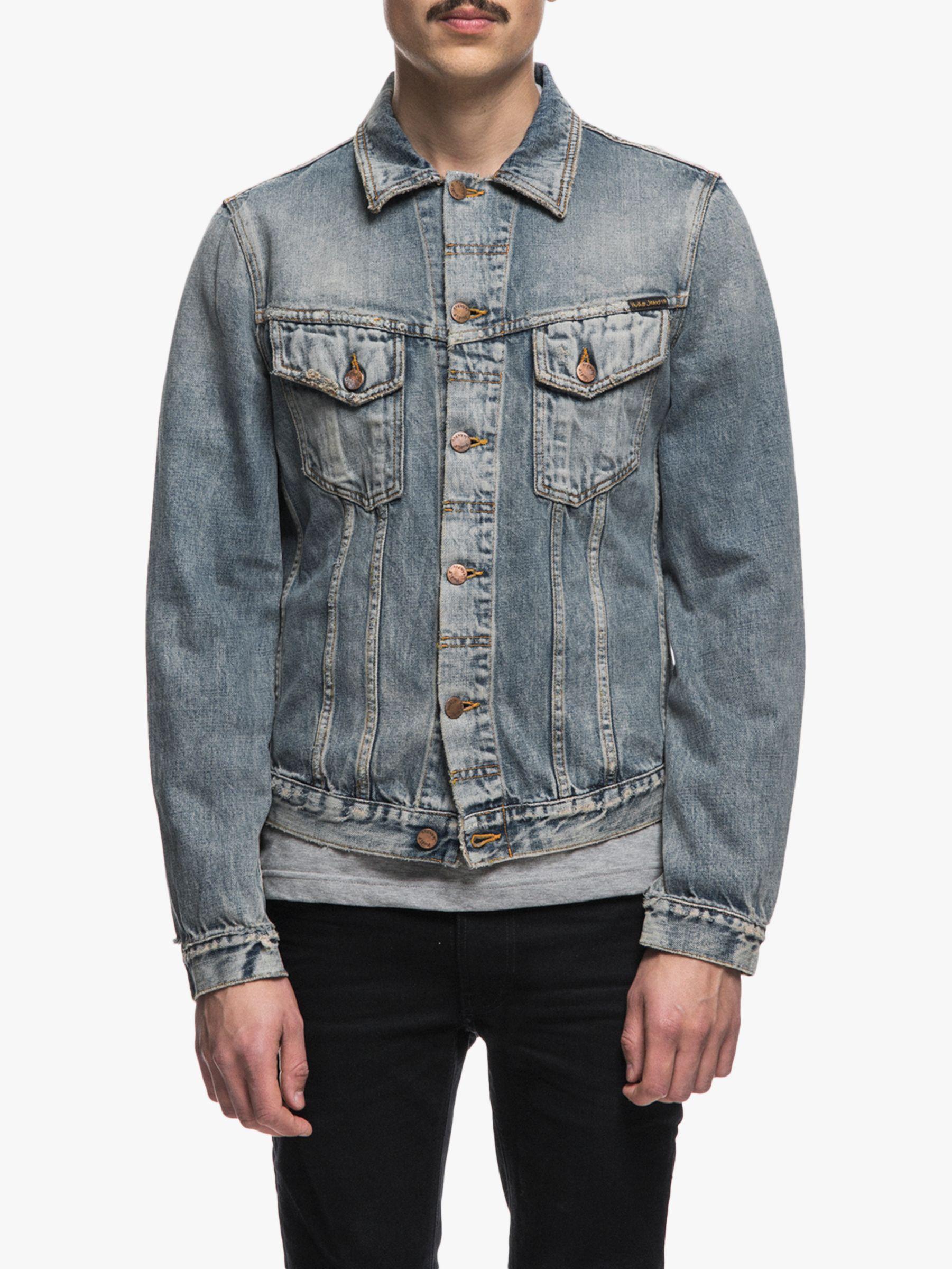 Nudie Jeans Nudie Jeans Billy Denim Jacket, Shimmering Indigo
