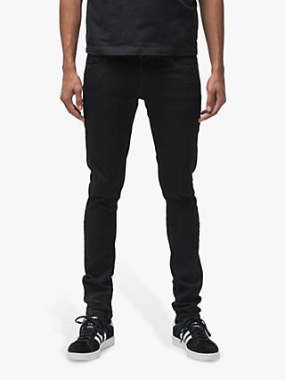 Nudie Jeans Slim Tight Terry Jeans, Everblack