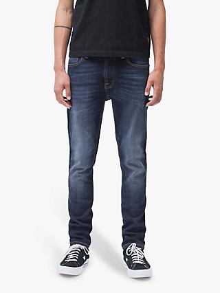 Nudie Jeans Slim Lean Dean Jeans, Dark Deep Worn