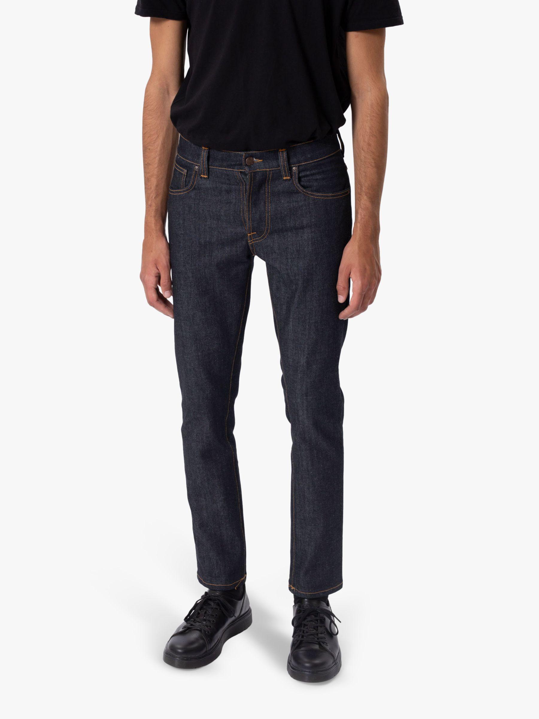 Nudie Jeans Nudie Jeans Slim Grim Tim Jeans, Dry True Navy