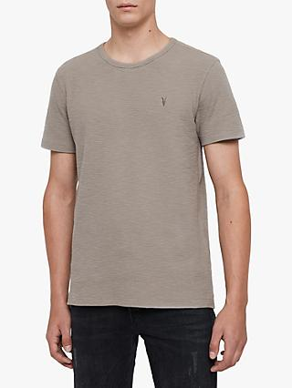 AllSaints Muse Short Sleeve T-Shirt, Cement Grey