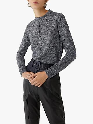 Warehouse Cosy Tweed Knit Jumper