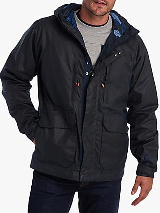 Barbour Doridge Wax Jacket, Black
